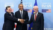 Obama in Brüssel 26.03.2014 USA EU Gipfel