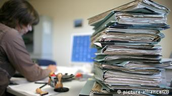 Symbolbild zum Thema Bürokratie
