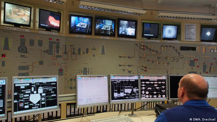 GEKA's control room: the heart of the operation