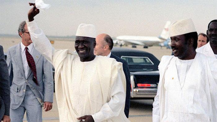 Ahmed Sékou Touré, primeiro Presidente da Guiné-Conacri