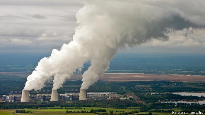 Vattenfall coal-fired power plant in eastern Germany