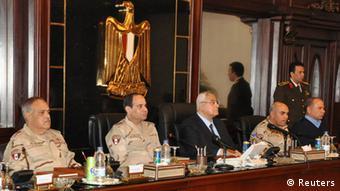 Abdel Fattah al-Sisi Rücktritt Verteidigungsminister