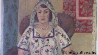 Sitzende Frau von Henri Matisse aus der Gurlitt-Sammlung (Foto: picture-alliance/dpa)