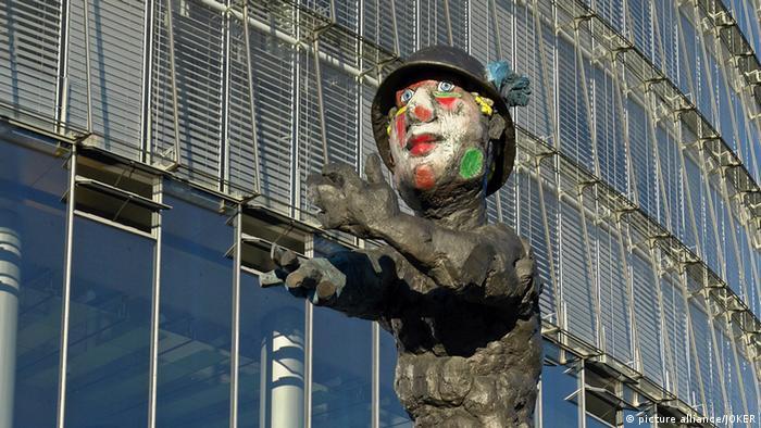 Скульптура ''Меркурий'' Люперца в Бонне