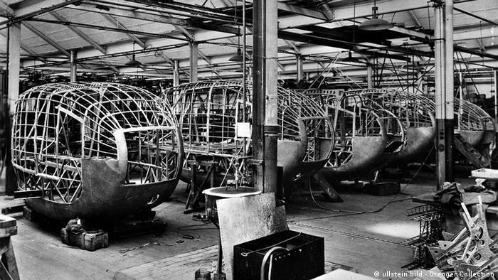 Машинные гондолы для LZ127