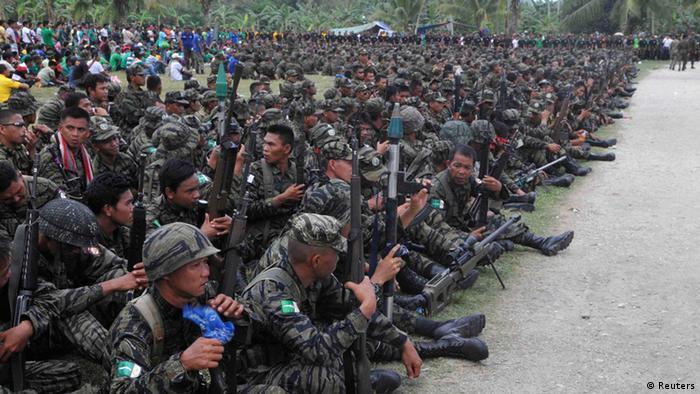 Philippinen Friedensvertrag Moro Rebellen 27.03.2014 (Reuters)