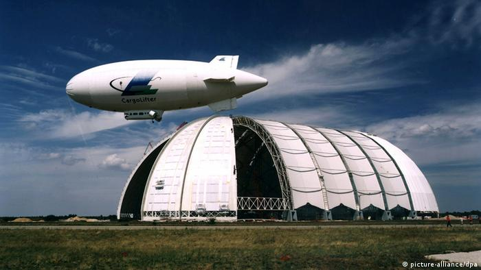 CargoLifter hangar in Brand, Germany (picture-alliance/dpa)