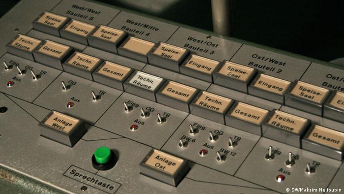 Кнопки на пульте управления