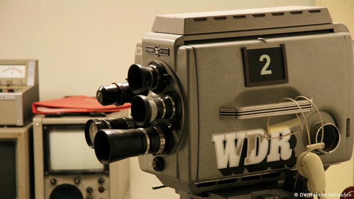 Телевизионная камера с эмблемой канала WDR