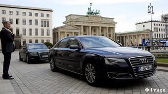 Служебный автомобиль канцлера Германии