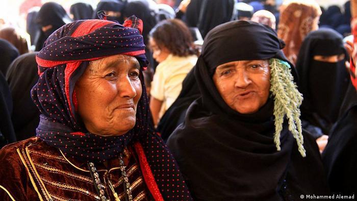 Jemen alte Frauen