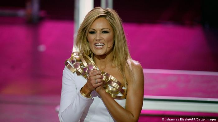 Helene Fischer on stage at the ECHO Awards