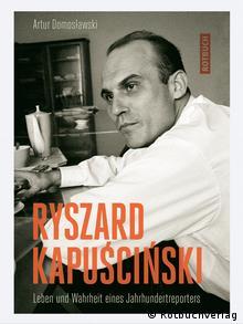 Buchcover Buch über Reporter Ryszard Kapuscinski