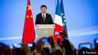 Xi Jinping in Paris