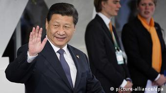 Deutschland Xi Jinping zum Staatsbesuch erwartet