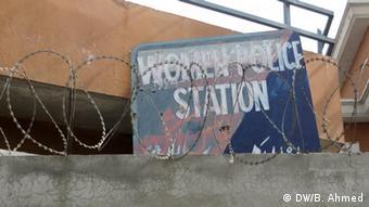 Women Police Station sign in Rawalpindi