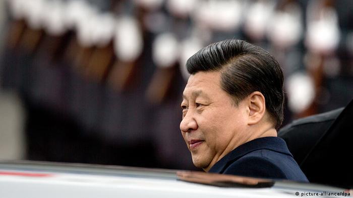 Deutschland China Xi Jinping zum Staatsbesuch in Berlin