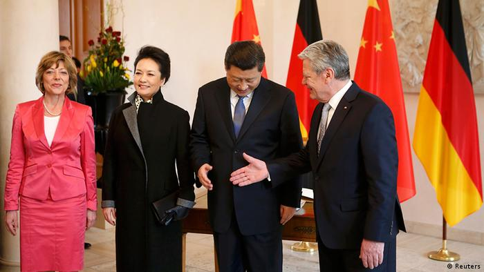 Deutschland China Xi Jinping bei Joachim Gauck in Berlin