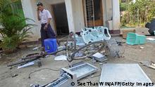 Myanmar Angriffe auf Hilfsorganisationen