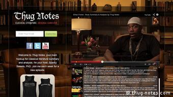 thug-notes.com (Screenshot)