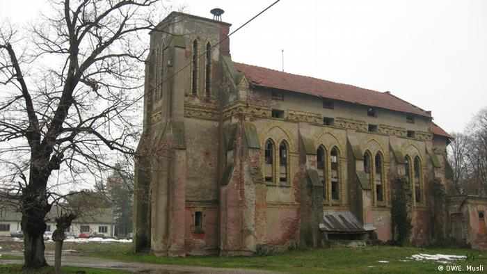 Deutsche in Semberija Bosnien und Herzegowina alte Evangelische Kirche