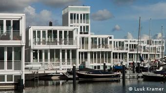 Schwimmende Stadtviertel in den Niederlanden
