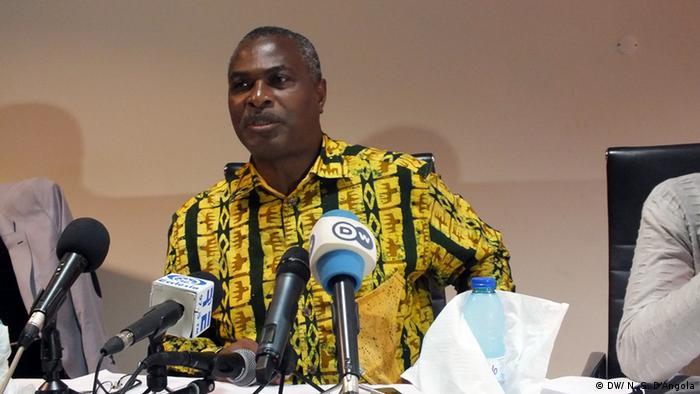 Abel Chivukuvuku, líder do PRA-JAServir Angola