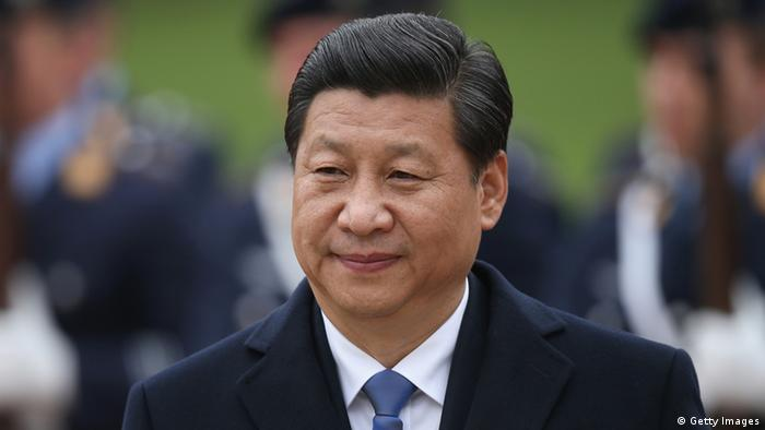 Xi Jinping in Berlin 28.03.2014