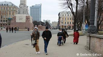 Street scene in Riga