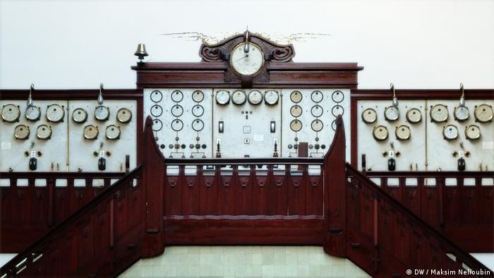 Контрольный пульт ГЭС в Хаймбахе