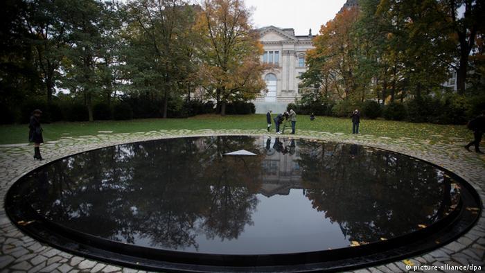 Gedenkstätte für die im Nationalsozialismus ermordeten Sinti und Roma Berlin