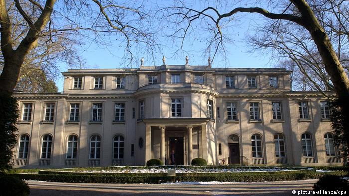 Im Haus der Wannsee-Konferenz in Berlin wurde nicht nur der Mord an den Juden geplant, sondern auch deren Enteignung