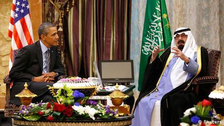 Barack Obama und König Abdullah