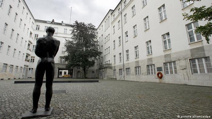 Bendlerblock - Ehrenhof der Gedenkstätte Deutscher Widerstand