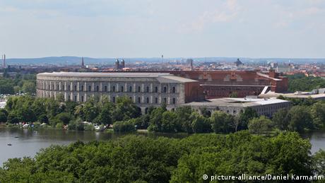 Kongresshalle auf dem ehemaligen Reichsparteitagsgelände in Nürnberg