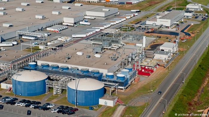 BMW-Werk Spartanburg in den USA (Foto: picture-alliance/dpa)