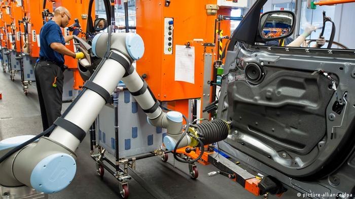 Конвейер на заводе BMW в Спартанбурге