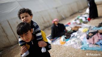 Sirijske izbjeglice u izbjegličkom centru u Turskoj. Familije su često razdvojene
