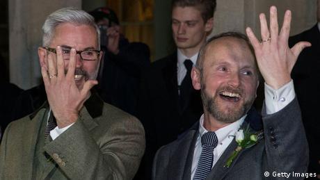 Großbritannien Homoehe (Getty Images)