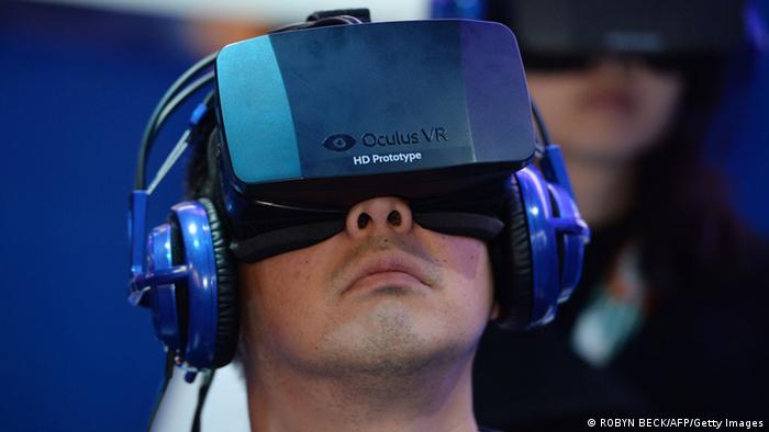 Oculus Rift Headset (Foto: ROBYN BECK/AFP/Getty Images)