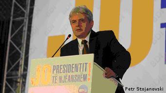 Präsidentschaftswahlen in Mazedonien