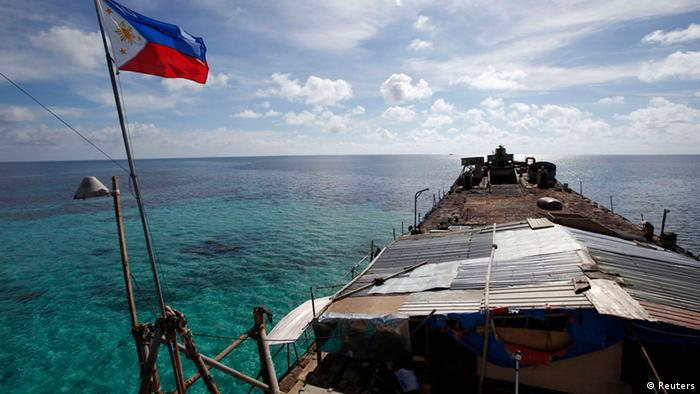Philippinen durchbrechen Chinas Blockaden Spratly Islands