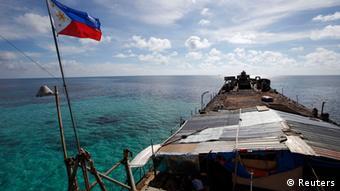 Philippinen durchbrechen Chinas Blockaden Spratly Islands