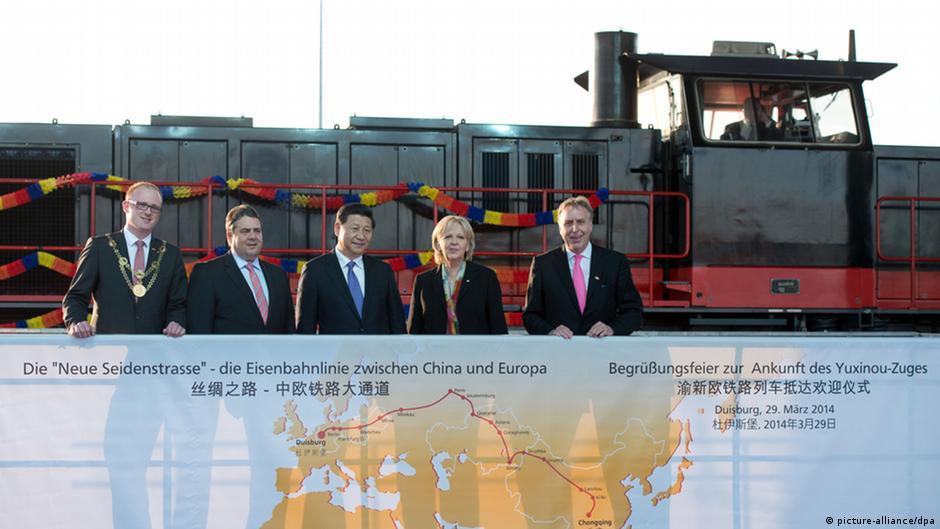 21世紀最大運輸工程!一窺「一帶一路」歐亞鐵路終點站:杜伊斯堡