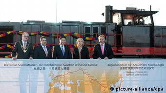 Chinas Präsident Xi in NRW Sigmar Gabriel Hannelore Kraft