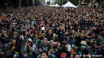 Taiwan Proteste in Taipeh 30.03.2014