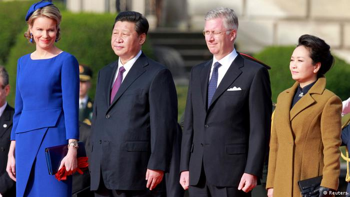 Chinas Präsident Xi Jinping in Belgien