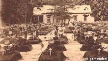 Kappelle auf Ehrenfriedhof in Moskaus 1915. Quelle: http://commons.wikimedia.org/wiki/File:Moscow_Brotherly_Cemetery_chapel_1915.jpg?uselang=ru ***Achtung! Schlechte Qualität!***