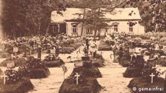 Братское кладбище в Москве, 1915 год