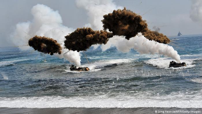 Maniobras militares de ambas Coreas ponen en riesgo la paz en la región y el mundo.